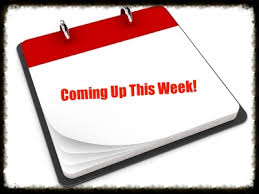 Coming the week of May 12…