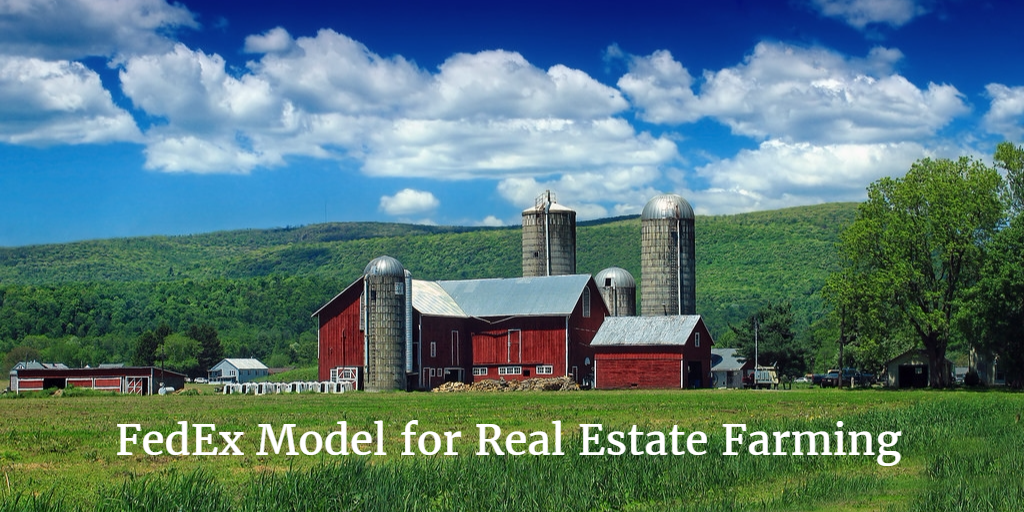 Achieve Real Estate Geographic Farming Success by Following the FedEx Model
