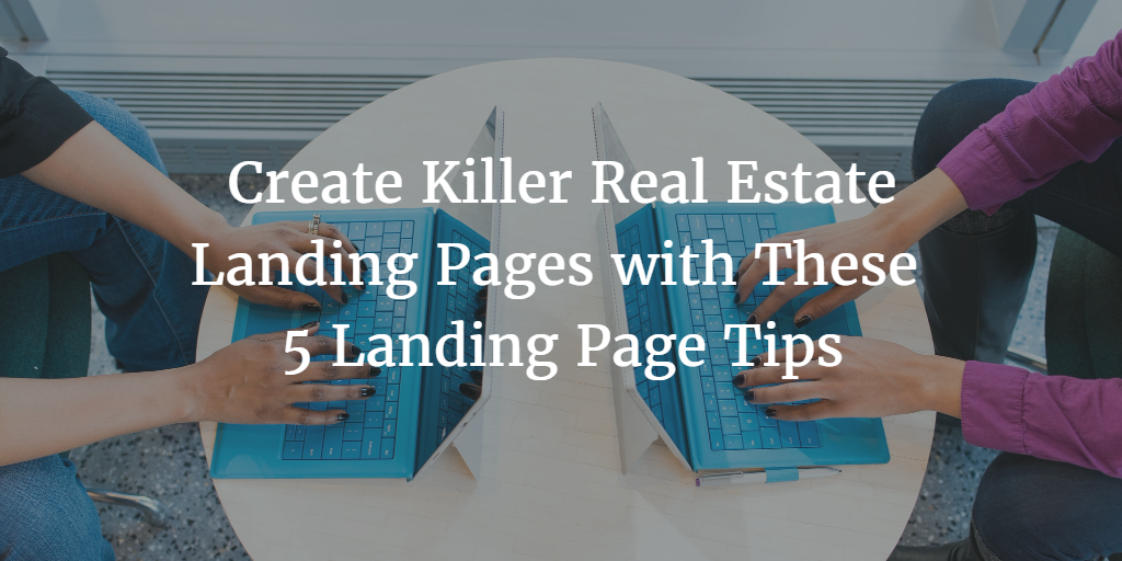 real estate landing pages