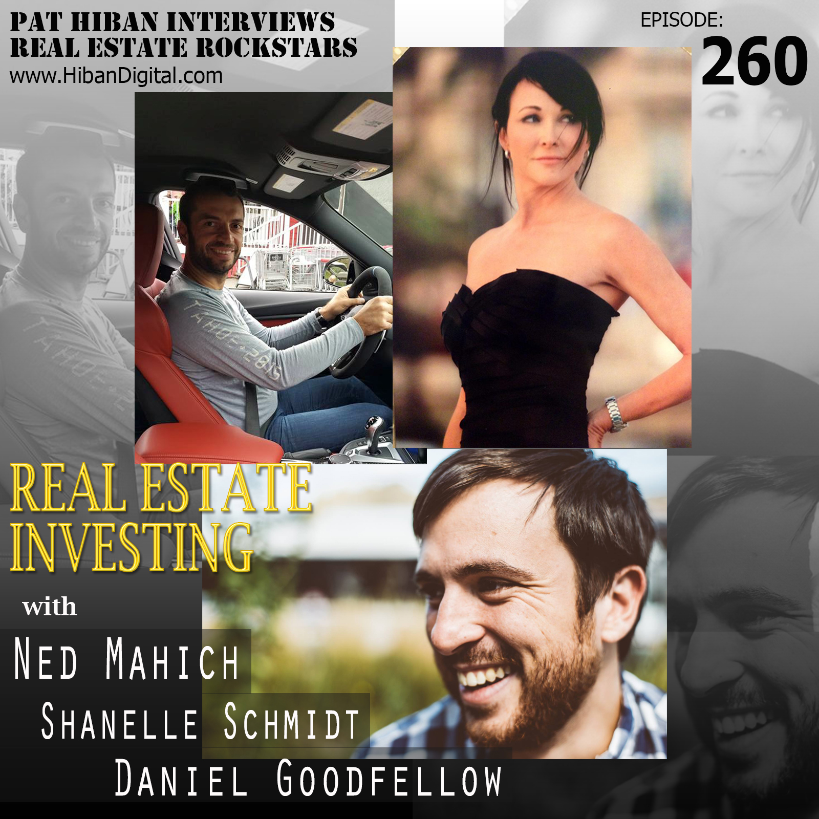 260: Real Estate Investing with Ned Mahich, Shanelle Schmidt, and Daniel  Goodfellow
