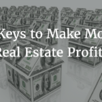 more real estate profits