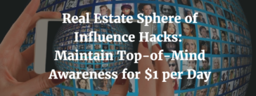 Real Estate Sphere of Influence