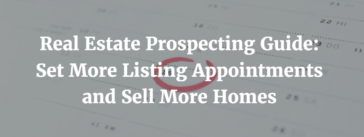 Real estate prospecting